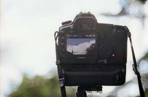 DSLR Kamera Video drehen
